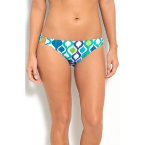 NWT Trina Turk Ogee Hipster Bikini Bottoms #105